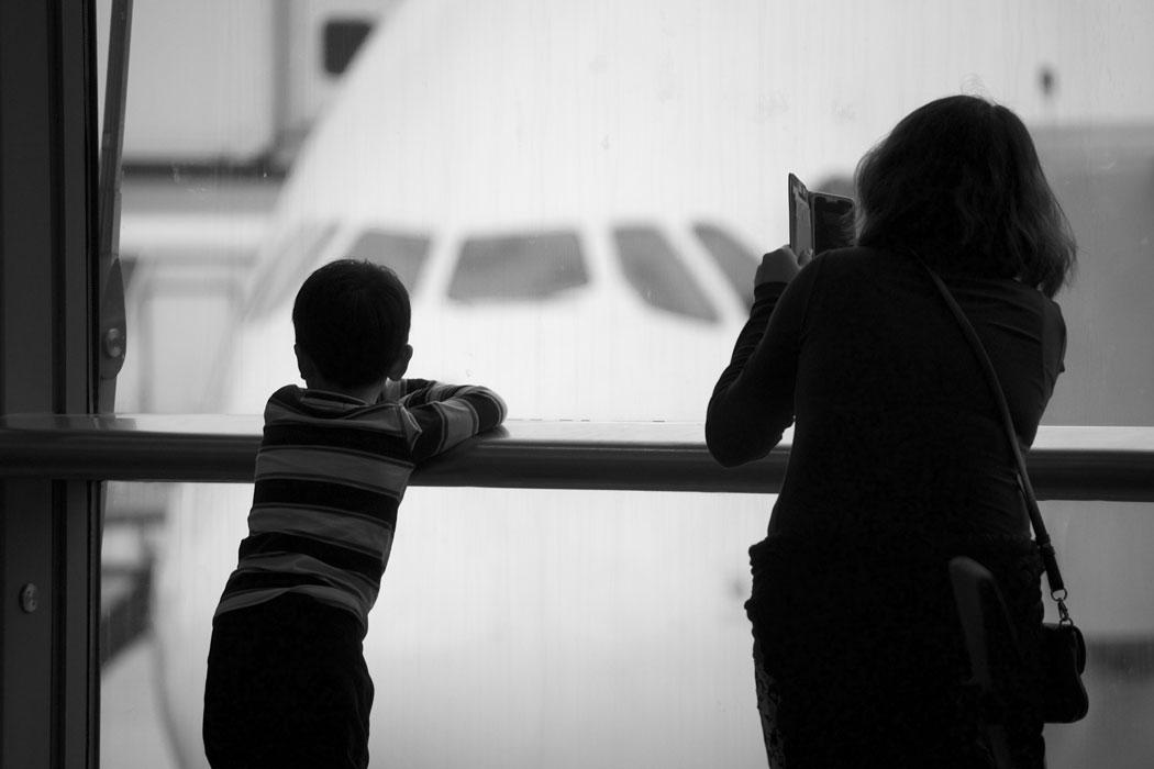 Streik in Palma Flughafen