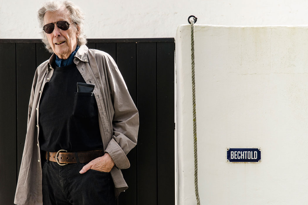 Kuenstler Erwin Bechtold auf Ibiza