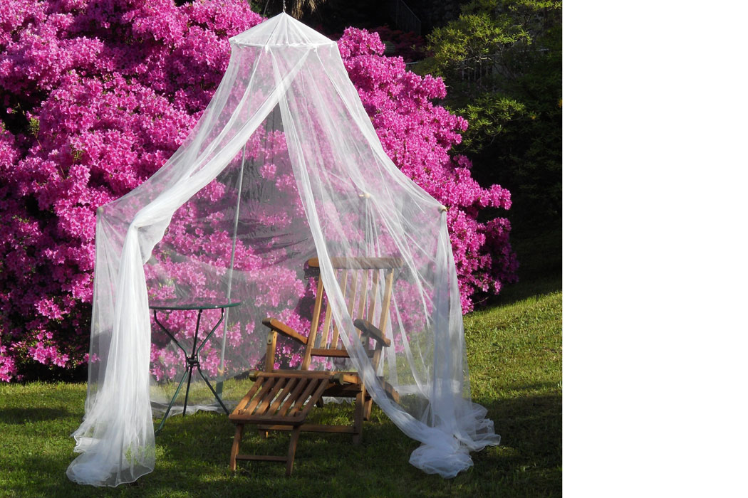 Moskitonetze fürs Relaxen auf Mallorca