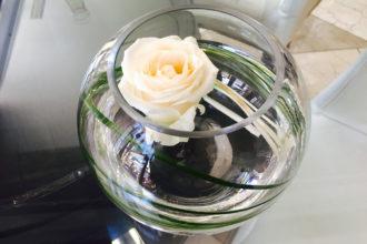 Rosendekoration auf Mallorca