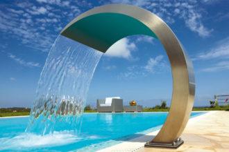 Pool: Schwallduschen auf Mallorca