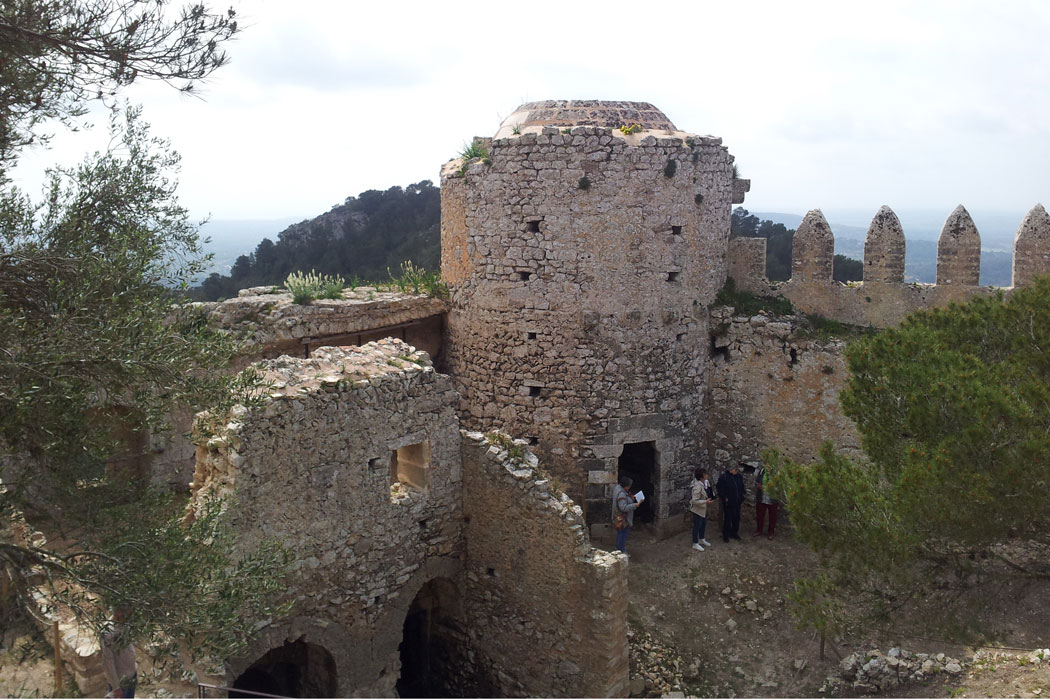 Castell de Santuiri auf Mallorca