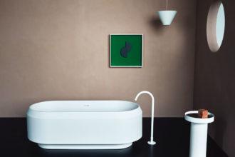 Schicke Badewanne für die Mallorca-Finca