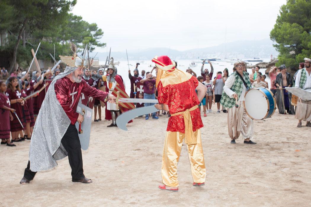 Schlacht in Santa Ponça auf Mallorca