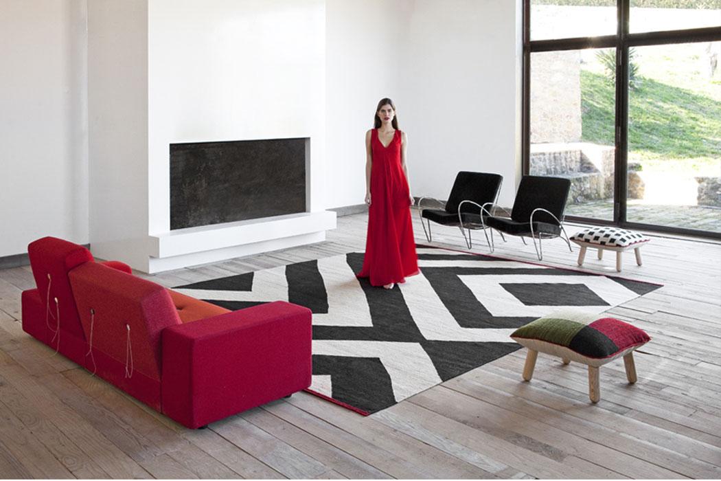 Teppich für die Finca auf Mallorca
