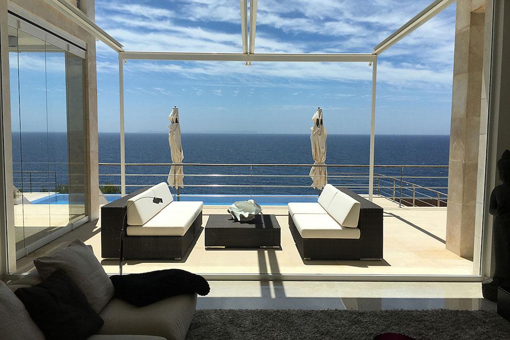 Meerblickvilla auf Mallorca