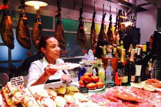 Neuer Markt in Palma auf Mallorca