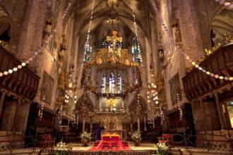 Heiligabend in der Kathedrale