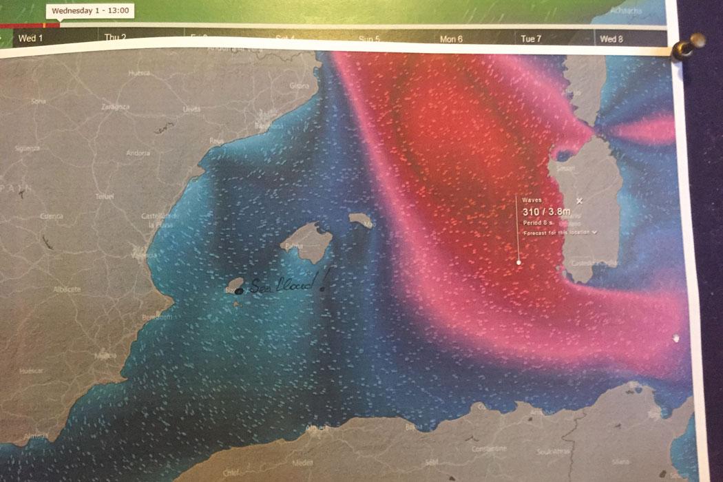 Seacloud auf Mallorca