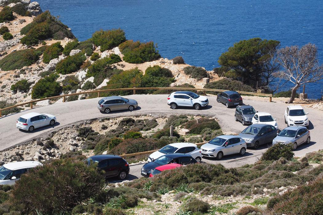 Pendelbus zum Cap Formentor