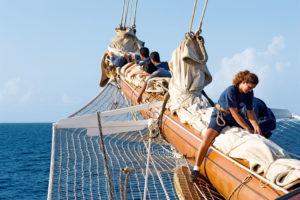Abenteuer unter Segeln