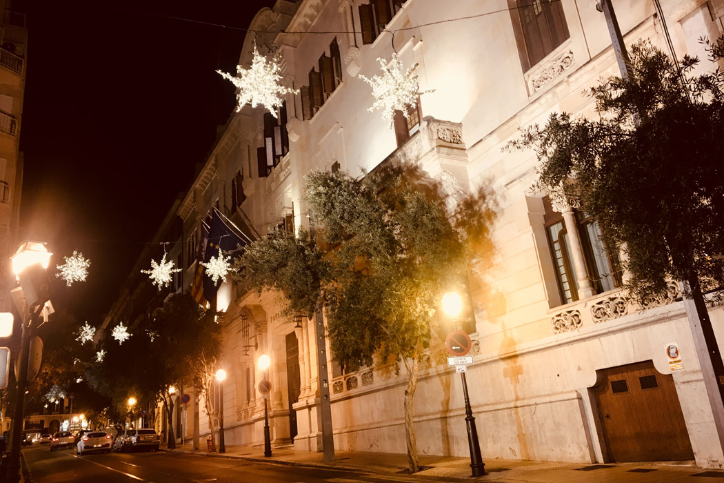 Weihnachten in Palma auf Mallorca