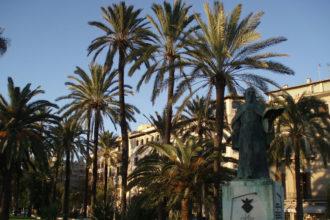 Uferpromenade in Palma auf Mallorca