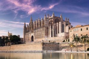 Lichtspektakel auf Mallorca