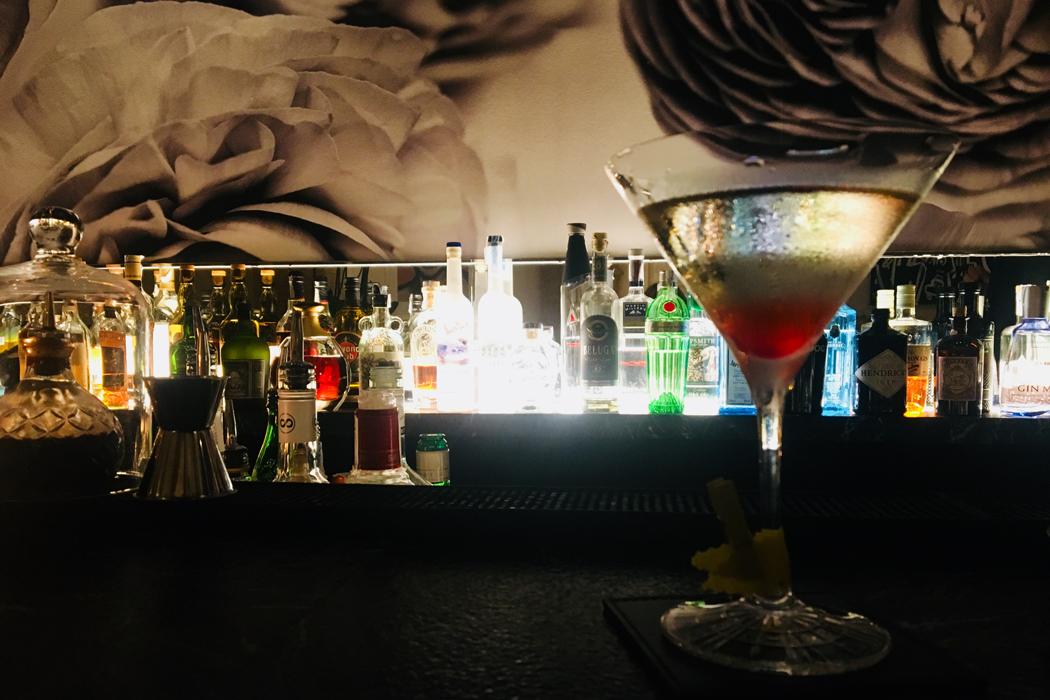 Sake-Cocktail auf Mallorca
