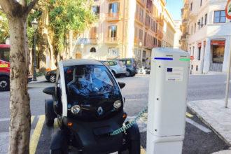 Ladestationen für E-Mobile auf Mallorca