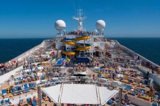 Protest gegen Kreuzfahrtschiffe
