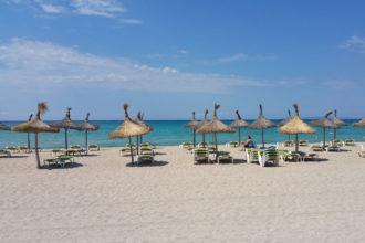 Wrack an der Playa de Palma