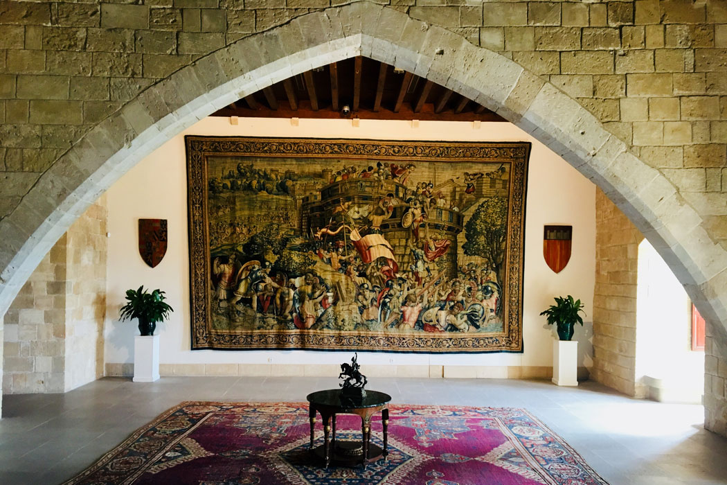 Almudaina-Palast in Palma auf Mallorca