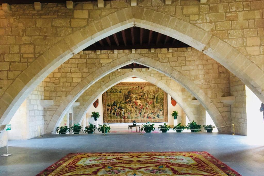 Almudaina-Palast auf Mallorca