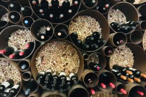 Weinregal zum Selbermachen