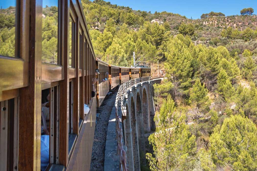 Mallorcas Bimmelbahn ist Museumseisenbahn