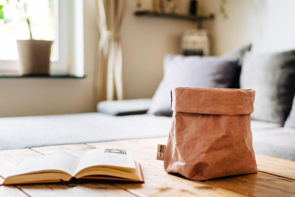 Boxen aus waschbarem Papier