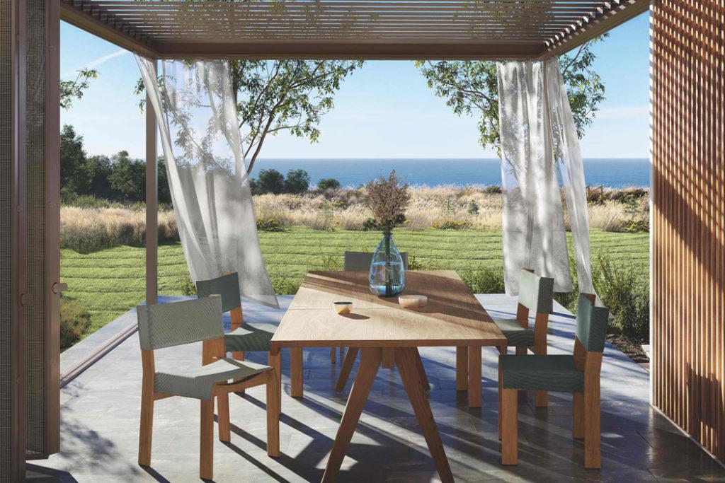 Pavillon für Mallorca