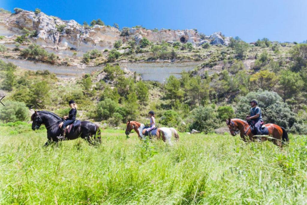 Menorca zu Pferd erkunden